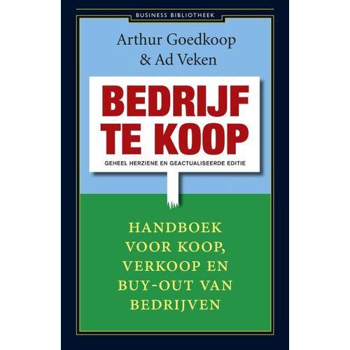 Bedrijf te koop - Ad Veken, Arthur Goedkoop (ISBN: 9789047002765)