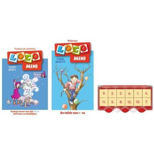 Loco Mini tijd en tafels leren (doos + 2 boekjes) - (ISBN: 9789048740253)
