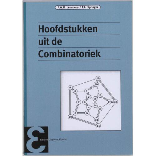 Hoofdstukken uit de Combinatoriek - P.W.H. Lemmens, T.A. Springer (ISBN: 9789050410960)