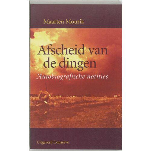 Afscheid van de dingen - M. Mourik (ISBN: 9789054290896)
