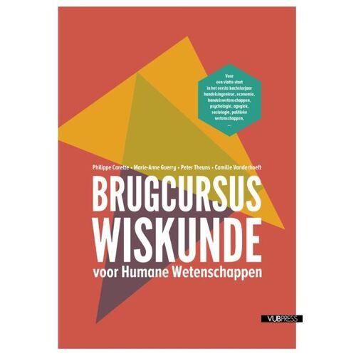 Brugcursus wiskunde - Camille Vanderhoeft (ISBN: 9789057182716)
