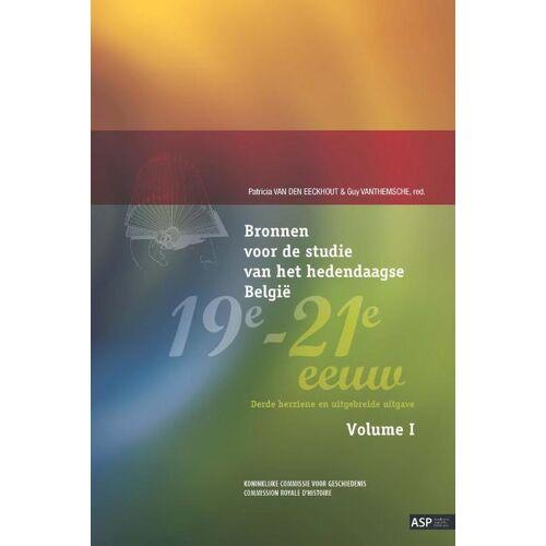 Bronnen voor de studie van het hedendaagse België, 19e-21e eeuw, vol. I & II - Guy Vanthemsche (ISBN: 9789057188947)