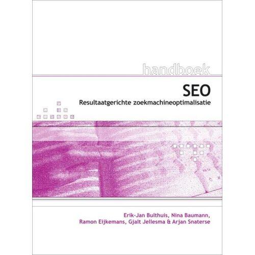 Handboek SEO voor webdesigners - Erik-Jan Bulthuis (ISBN: 9789059403680)