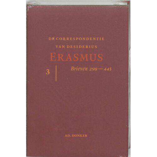 De correspondentie van Erasmus 3 - D. Erasmus (ISBN: 9789061005827)