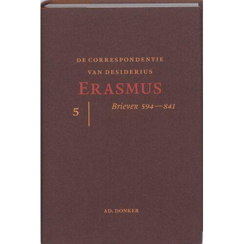 De correspondentie van Desiderius Erasmus 5 - D. Erasmus (ISBN: 9789061005919)