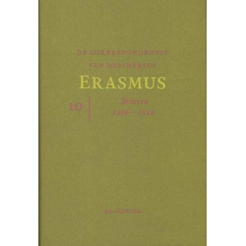 De correspondentie van Desiderius Erasmus 10 - (ISBN: 9789061006718)