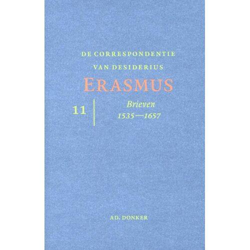 De correspondentie van Desiderius Erasmus deel 11 - (ISBN: 9789061006725)