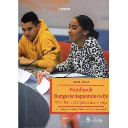 Handboek Burgerschapsonderwijs - Bram Eidhof (ISBN: 9789064735349)