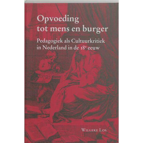 Opvoeding tot Mens en Burger - W. Los (ISBN: 9789065508874)