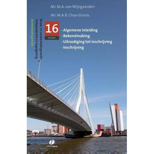 Jurispudentie en regelgeving - M.A. van Wijngaarden (ISBN: 9789077320860)