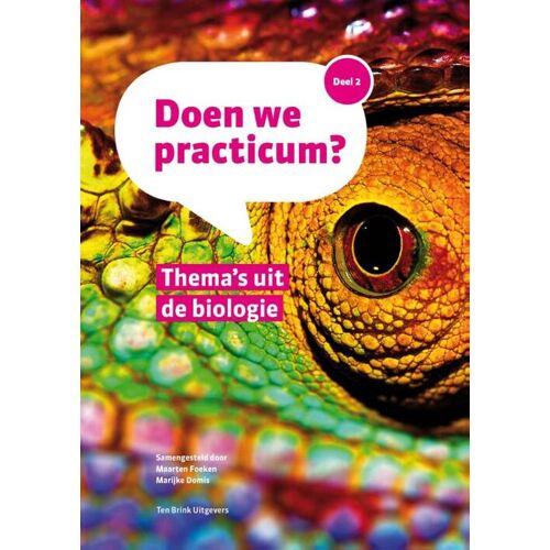Thema's uit de Biologie - Maarten Foeken, Marijke Domis (ISBN: 9789077866368)