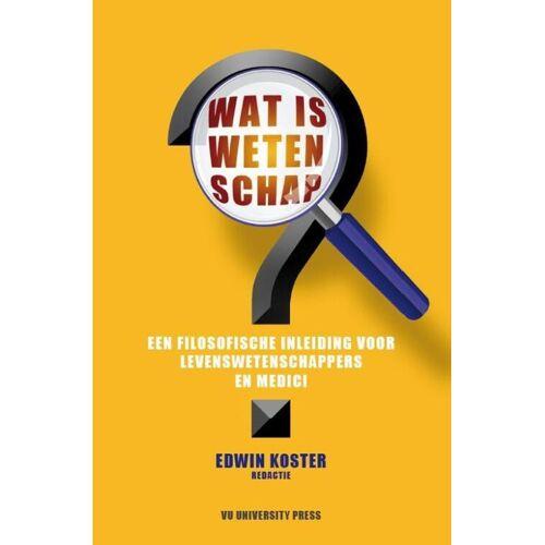 Wat is wetenschap? - Edwin Koster (ISBN: 9789086598021)