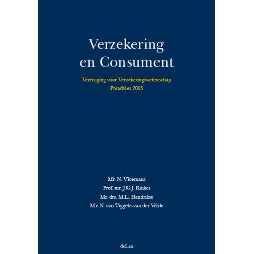 Vereniging voor Verzekeringswetenschap - J.G.J. Rinkes (ISBN: 9789086920112)