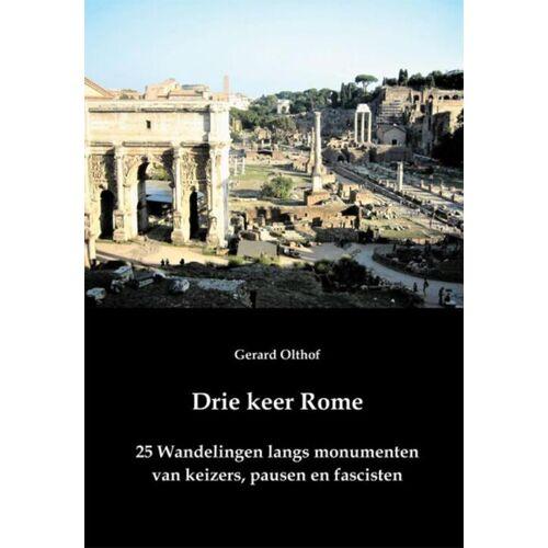 Drie keer Rome - Gerard Olthof (ISBN: 9789087596620)