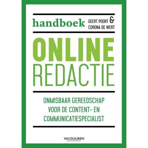 Handboek online redactie - Corona de Wert, Geert Poort (ISBN: 9789089654403)
