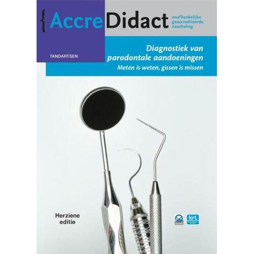 Diagnostiek van parodontale aandoeningen - Fridus van der Weijden (ISBN: 9789089763594)