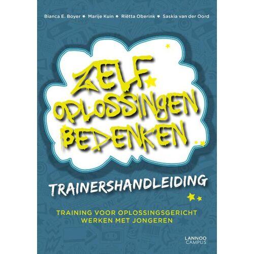 Zelf oplossingen bedenken - Trainershandleiding - Bianca E. Boyer (ISBN: 9789401418430)