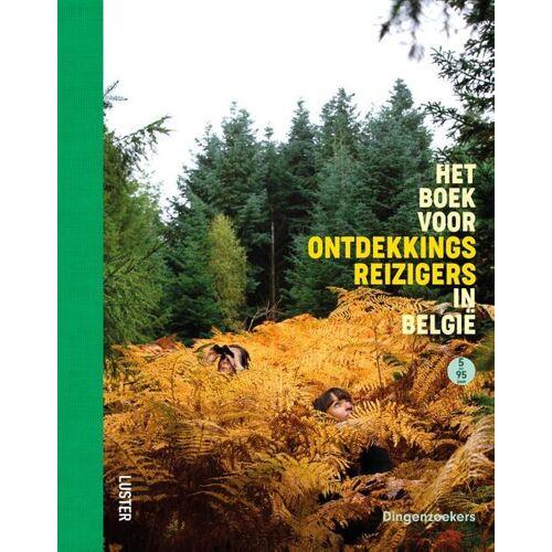 Het boek voor ontdekkingsreizigers in België - Kristien In-'t-Ven (ISBN: 9789460582813)