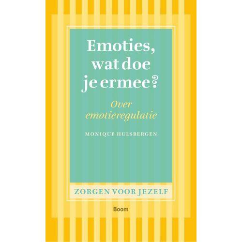Emoties, wat doe je ermee? - Monique Hulsbergen (ISBN: 9789461057327)