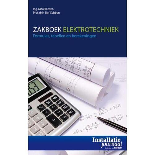 Zakboek elektrotechniek - Nico Kluwen, Sjef Cobben (ISBN: 9789462451995)