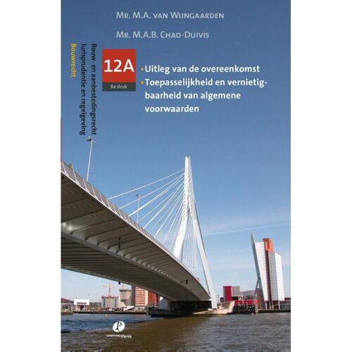 Bouwrecht - M.A.B. Chao-Duivis, M.A. van Wijngaarden (ISBN: 9789462510890)