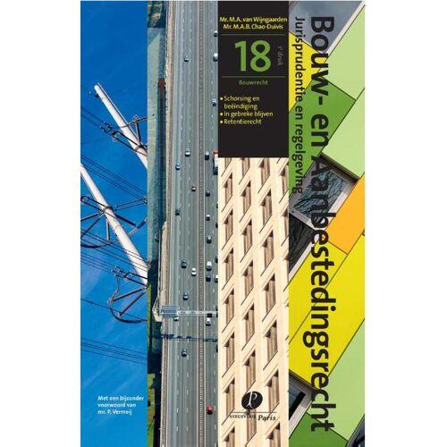 Bouwrecht - M.A.B. Chao-Duivis, M.A. van Wijngaarden (ISBN: 9789462511163)