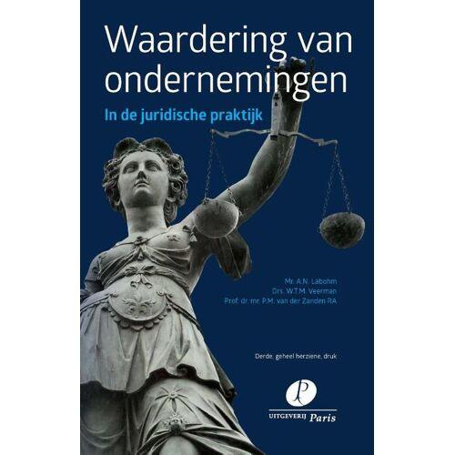 Waardering van ondernemingen - A.N. Labohm, P.M. van der Zanden, W.T.M. Veerman (ISBN: 9789462511330)