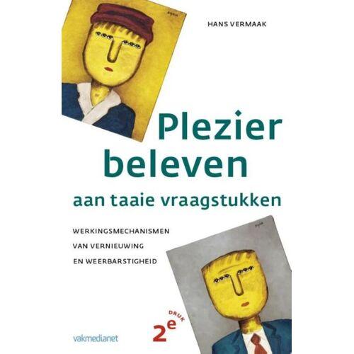 Plezier beleven aan taaie vraagstukken - Hans Vermaak (ISBN: 9789462760776)
