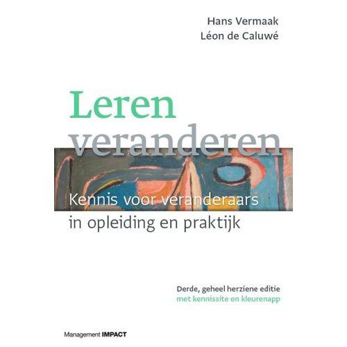 Leren veranderen - Hans Vermaak, Léon de Caluwé (ISBN: 9789462762800)