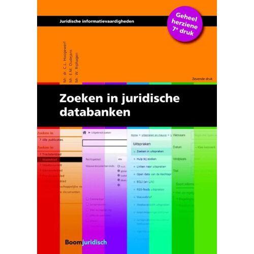 Zoeken in juridische databanken - C.L. Hoogewerf, E.M. Oudejans, W. Riphagen (ISBN: 9789462901278)
