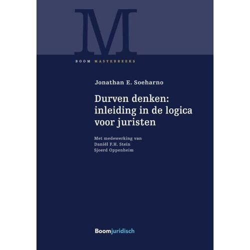 Durven denken: inleiding in de logica voor juristen - Jonathan E. Soeharno (ISBN: 9789462902275)