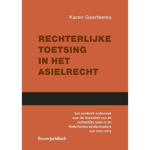 Rechterlijke toetsing in het asielrecht - Karen Geertsema (ISBN: 9789462905559)