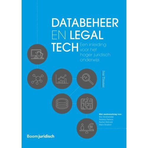Databeheer en legal tech - Ivar Timmer (ISBN: 9789462905887)