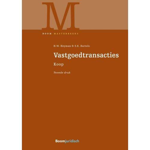 Vastgoedtransacties - H.W. Heyman, S.E. Bartels (ISBN: 9789462908581)
