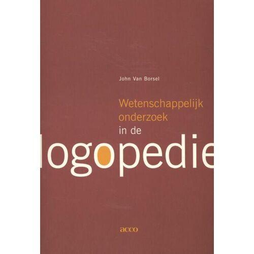 Wetenschappelijk onderzoek in de logopedie - John van Borsel (ISBN: 9789462921740)