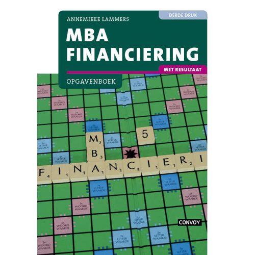 MBA Financiering - Annemieke Lammers (ISBN: 9789463170987)