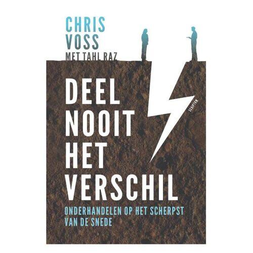Deel nooit het verschil - Chris Voss, Tahl Raz (ISBN: 9789463190909)