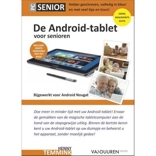 De Android tablet voor senioren - Henny Temmink (ISBN: 9789463560375)