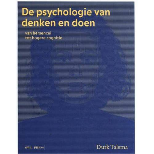 De psychologie van denken en doen - Durk Talsma (ISBN: 9789463931441)