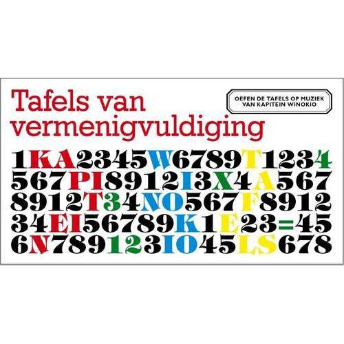 Tafels van Vermenigvuldiging - Buscemi, Winok Seresia (ISBN: 9789490378035)