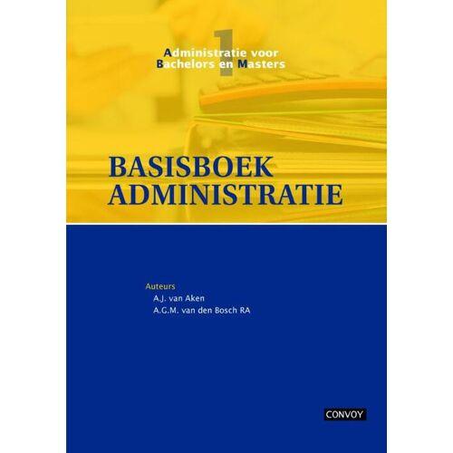 Basisboek administratie - A.G.M. van den Bosch, A.J. van Aken (ISBN: 9789491725081)
