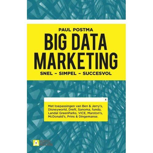 Big data marketing - Paul Postma (ISBN: 9789492196200)
