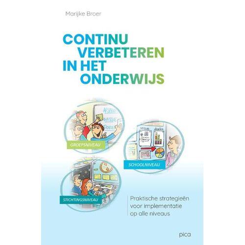 Continu verbeteren in het onderwijs - Marijke Broer (ISBN: 9789492525925)