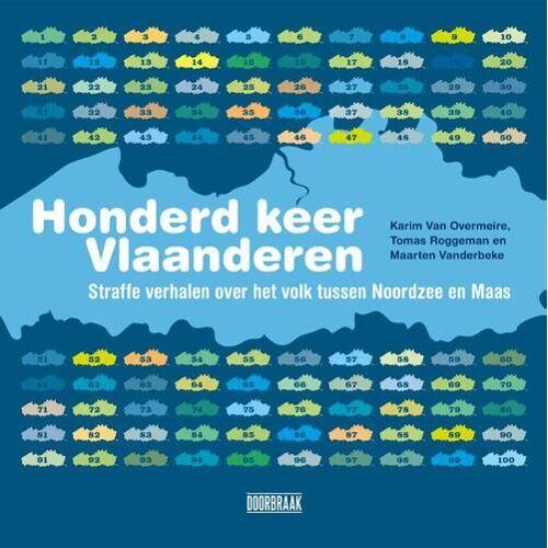 Honderd keer Vlaanderen - Karim van Overmeire (ISBN: 9789492639066)