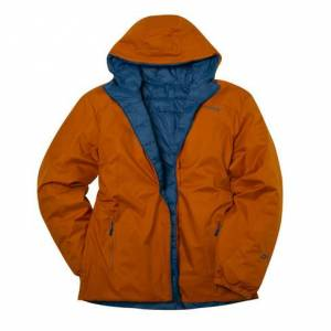 Maier Sports Keerbaar herenjack, oranje 56