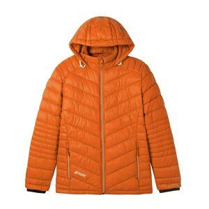 Maier Sports Gewatteerde herenjas met capuchon, oranje 56