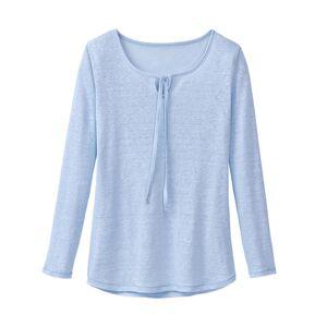enna Linnen shirt, lichtblauw 36
