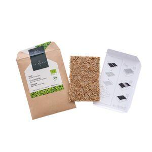Bio-zaadpad mosterd met 6,4 g kiemzaad