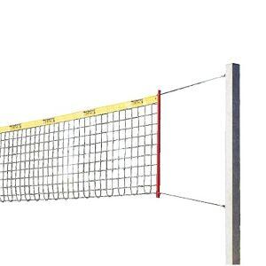 "Sport-Thieme Beachvolleybal-installatie ""Stabil"", Net met ommanteling, Met palenbeschermkussen"