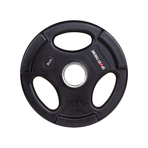 Sport-Thieme Wedstrijd-PU-Halterschijf, 15 kg